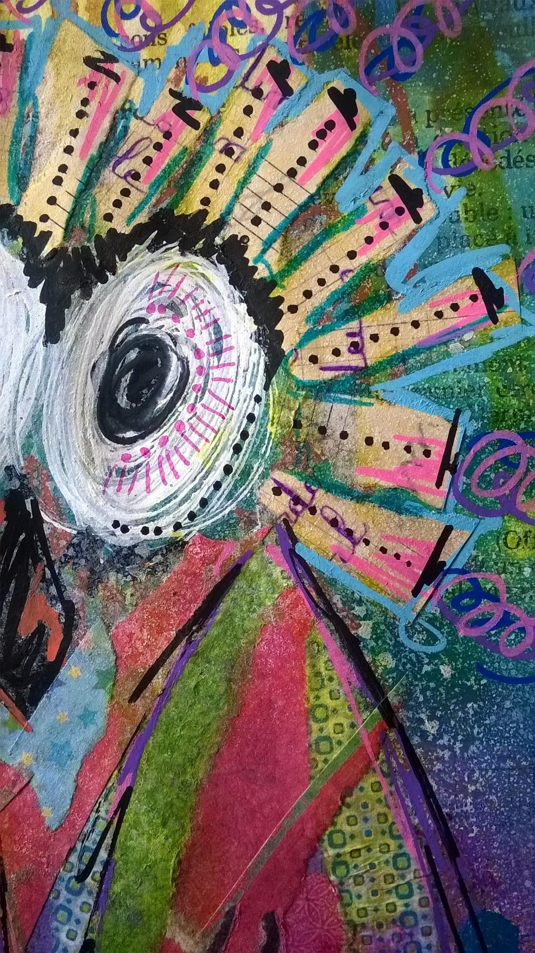 Mixed Media – 100 Artworks – #37 Chouette un Hibou – 06