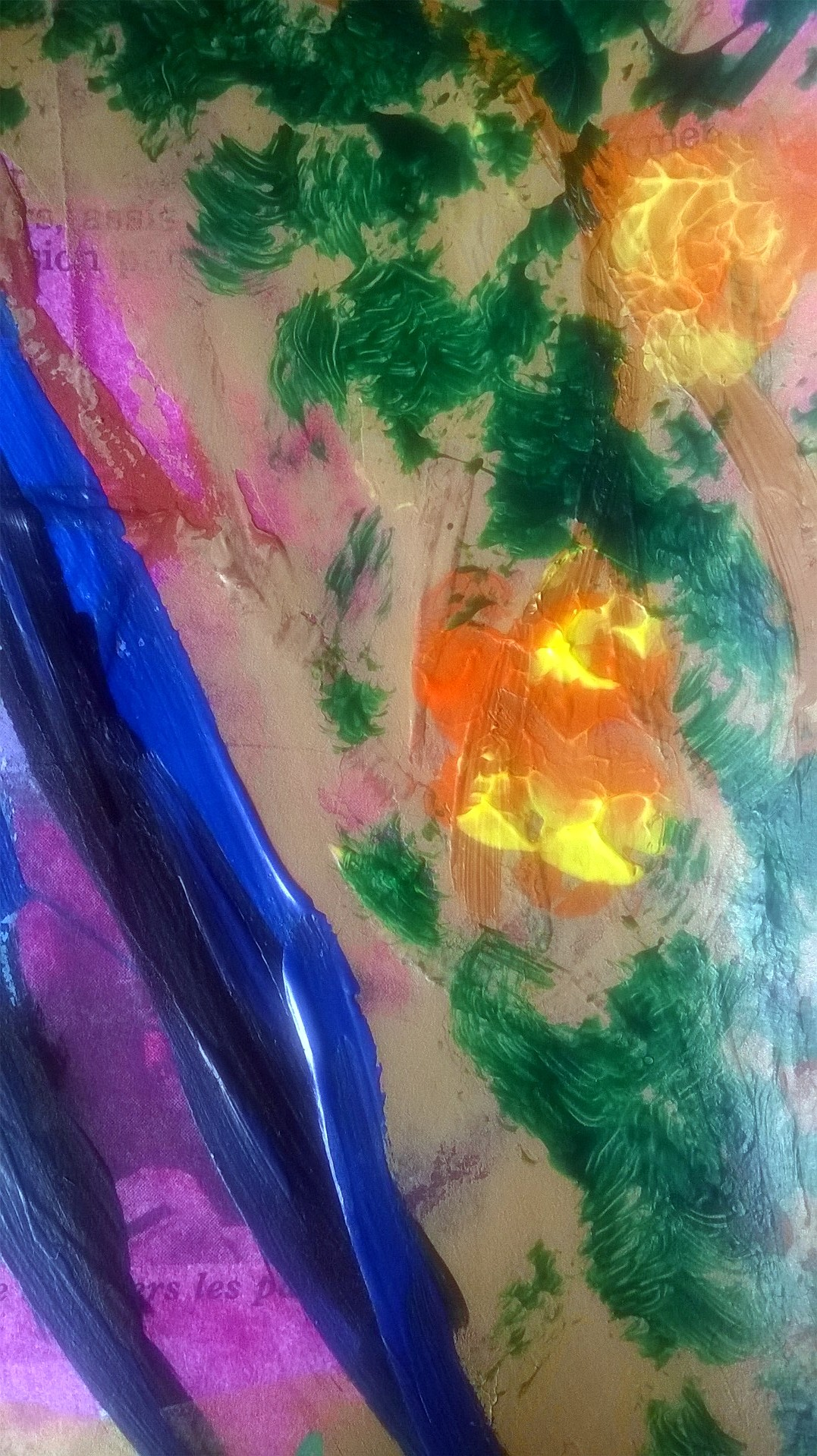 Mixed Media – 100 Artworks – #35 Faire Tapisserie