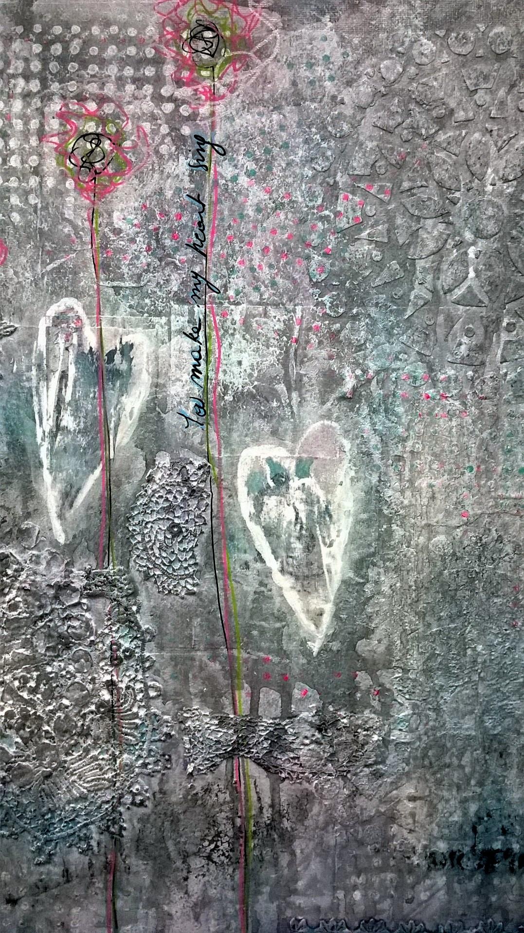 Mixed Media – You Make my Heart Sing 04