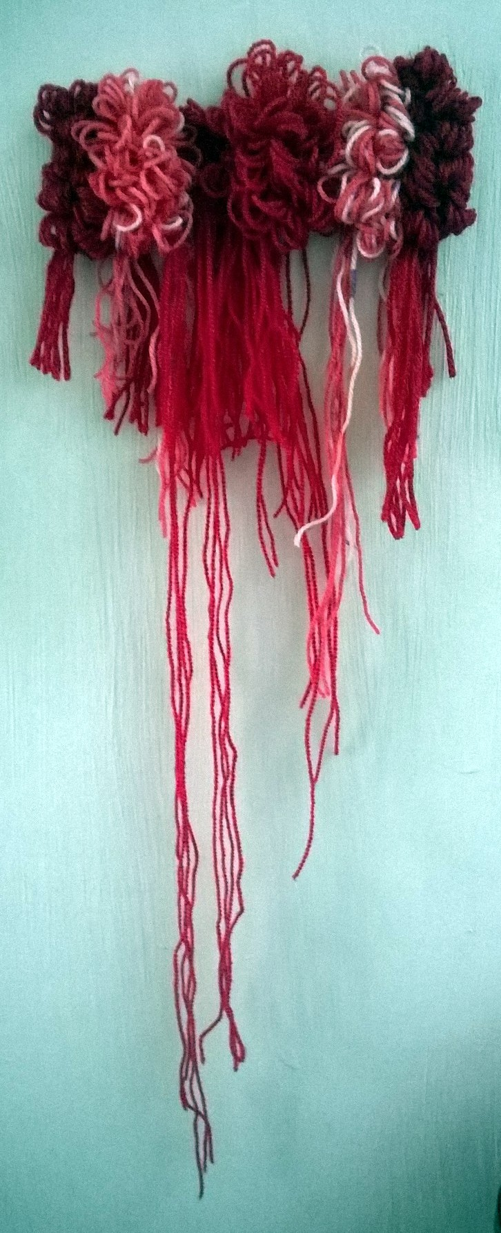 Tissage – Mini Mess in Red 04