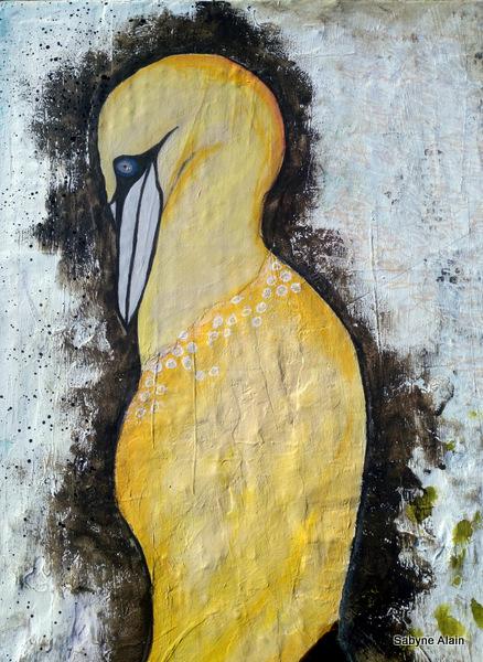 Mixed Media – Lady Fou de Bassan 12