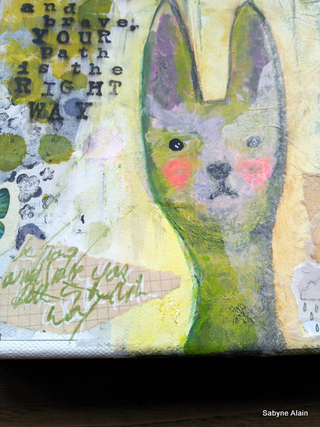 Mixed Media – Be Proud and Brave 04b