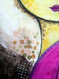 Mixed Media - The Whistling Robin