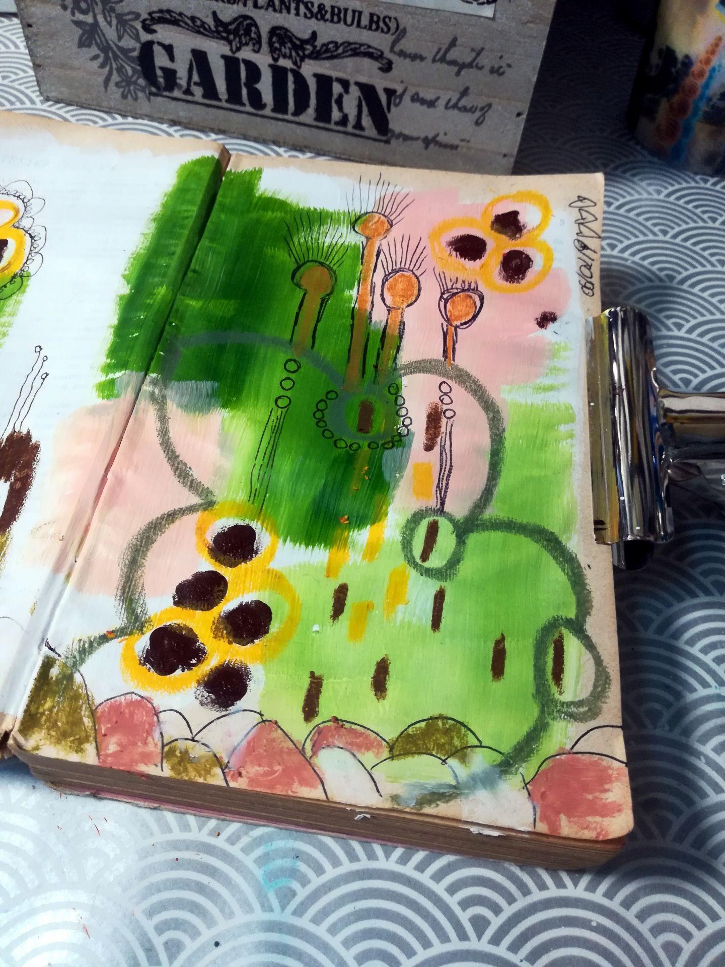 Livre d'artiste intuitif 3