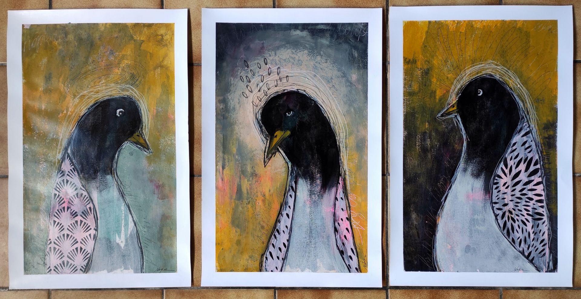 Série Pingouins