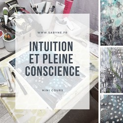 atelier en ligne, intuition, pleine conscience, art abstrait
