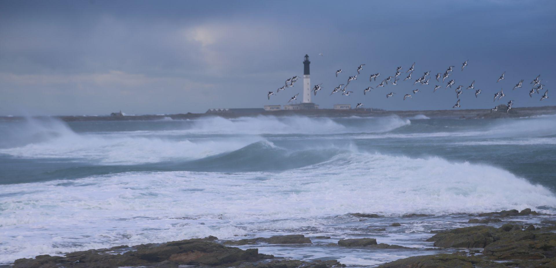 bord de mer, paysage breton, bretagne, vague, tempête