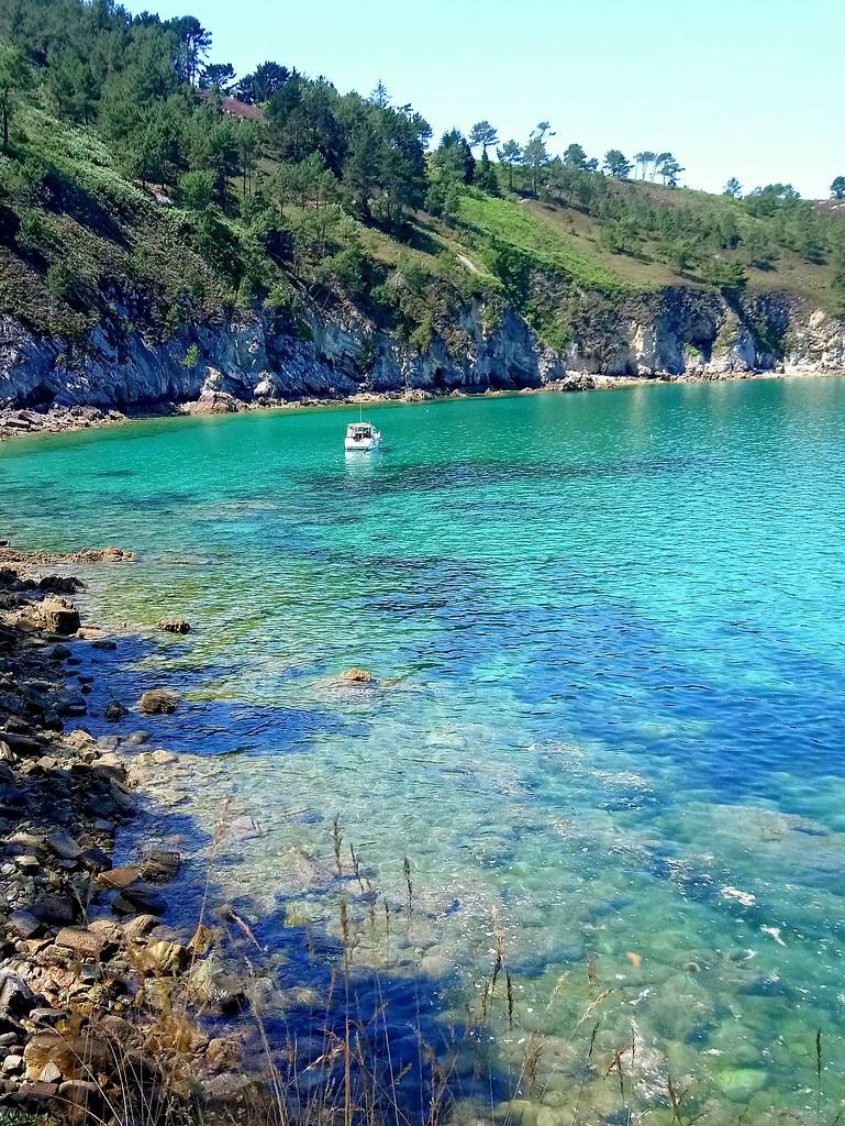 bord de mer, paysage breton, bretagne, crozon