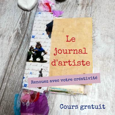 Le journal d'artiste Cours gratuit